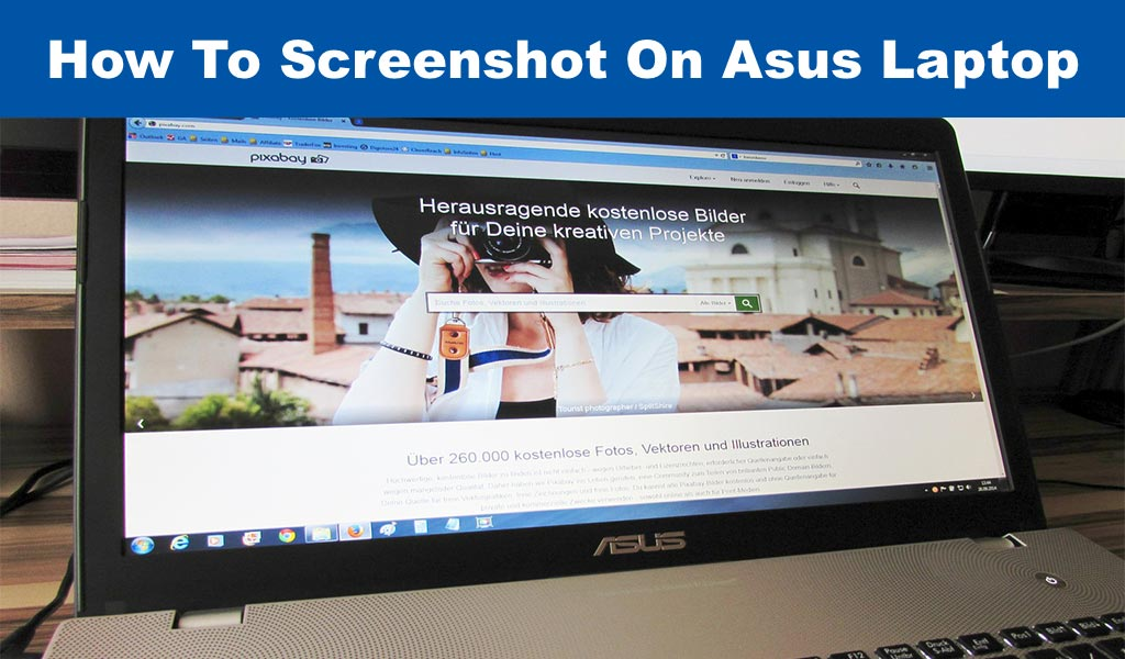 How To Screenshot On Asus Laptop
